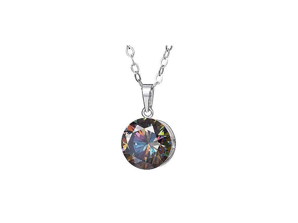 Přívěsek z broušeného skla Starry v barvě duhy Vitrail Medium od firmy Preciosa