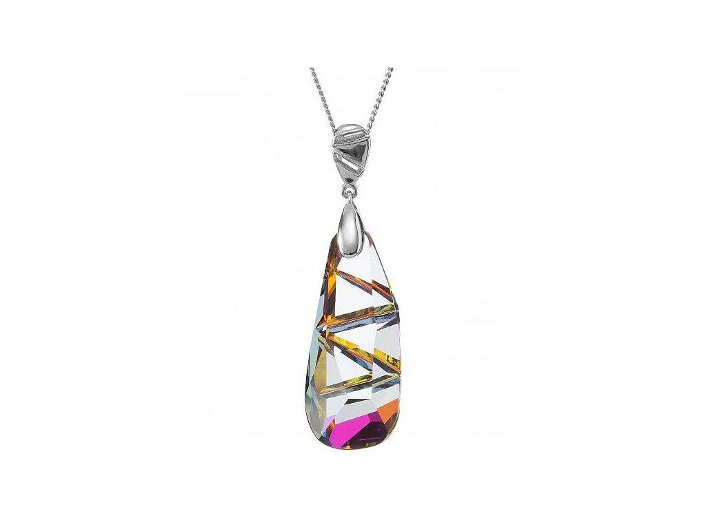 Přívěsek z broušeného skla Captivant v barvě Volcano od firmy Preciosa