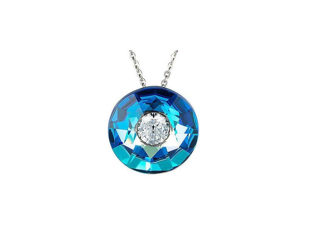 Přívěsek chirurgická ocel Rare v modré barvě od firmy Preciosa