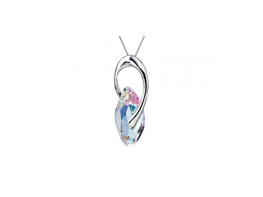 Přívěsek z broušeného skla Graceful Style v barvě Vitrail Light od firmy Preciosa