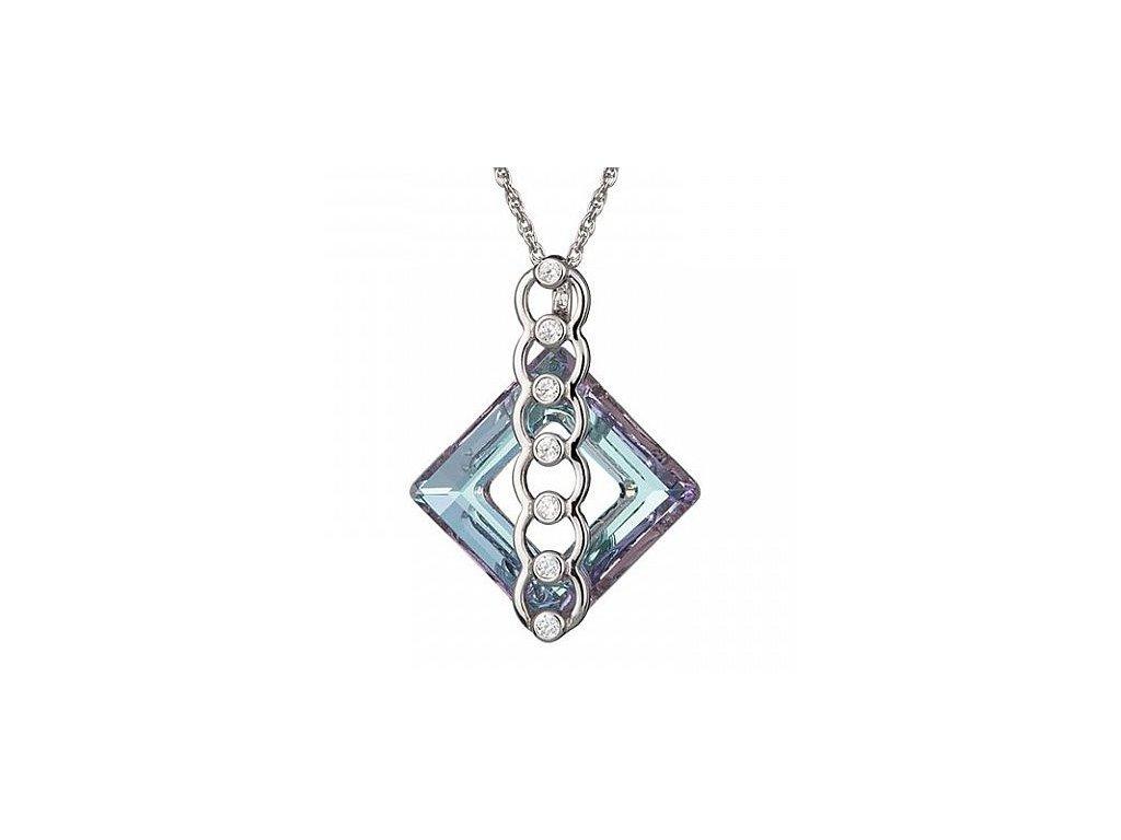 Přívěsek z broušeného skla Eternal Bond III v barvě Vitrail Light od firmy Preciosa
