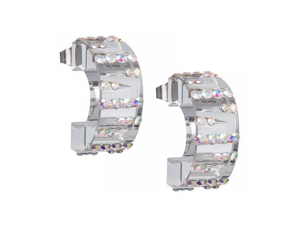 Náušnice chirurgická ocel Luminous od firmy Preciosa