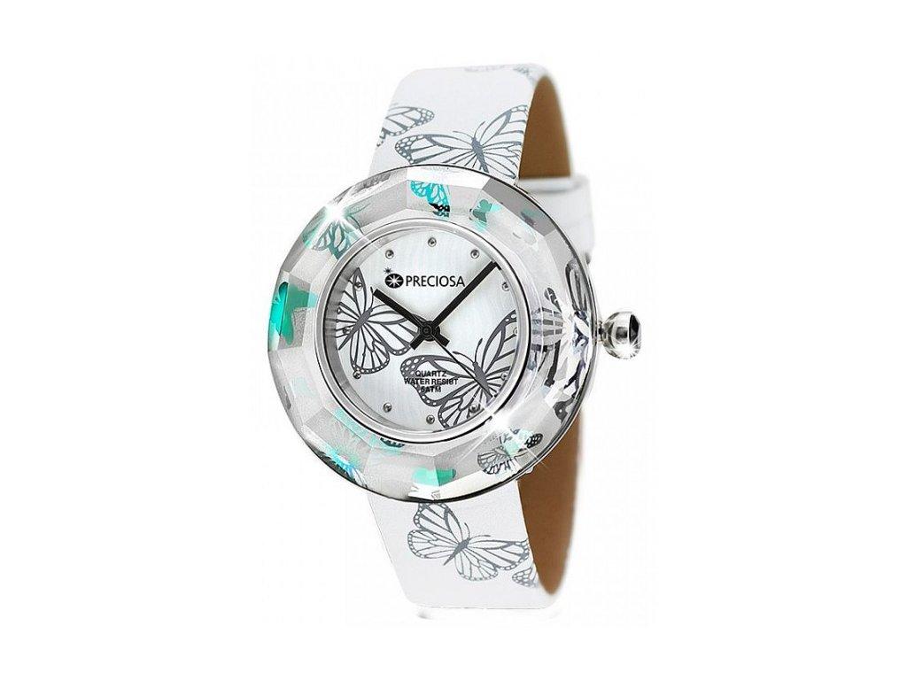 Dámské hodinky Preciosa Crystal Time Modern v barvě Vitrail Light