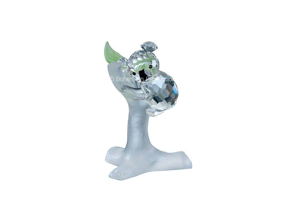 Skleněná figurka z broušeného křišťálu Sklo Bohemia - Koala na větvi