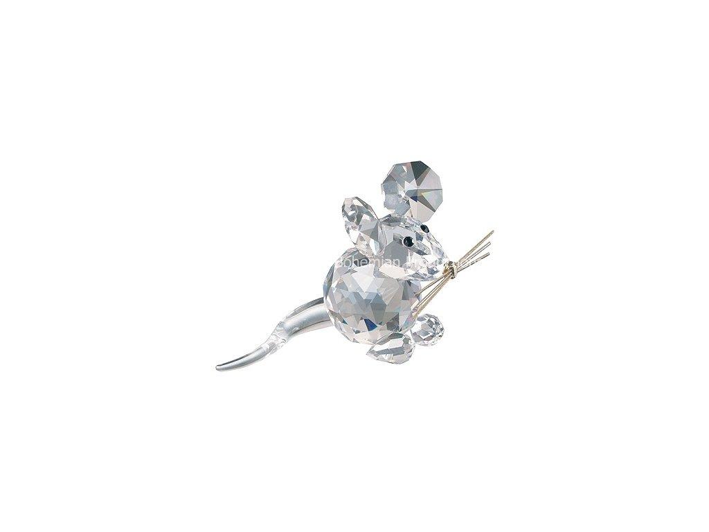 Skleněná figurka z broušeného křišťálu Sklo Bohemia - Myšák
