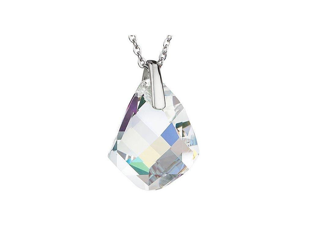 Přívěsek z broušeného skla Chelsea v barvě duhy od firmy Preciosa