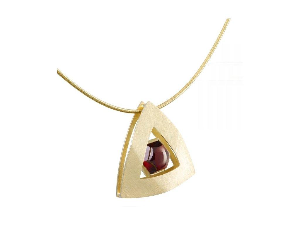 Český granát  Luxusní náhrdelník 16