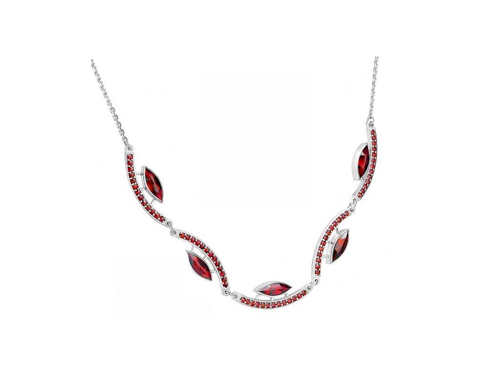 Český granát  Luxusní náhrdelník 14