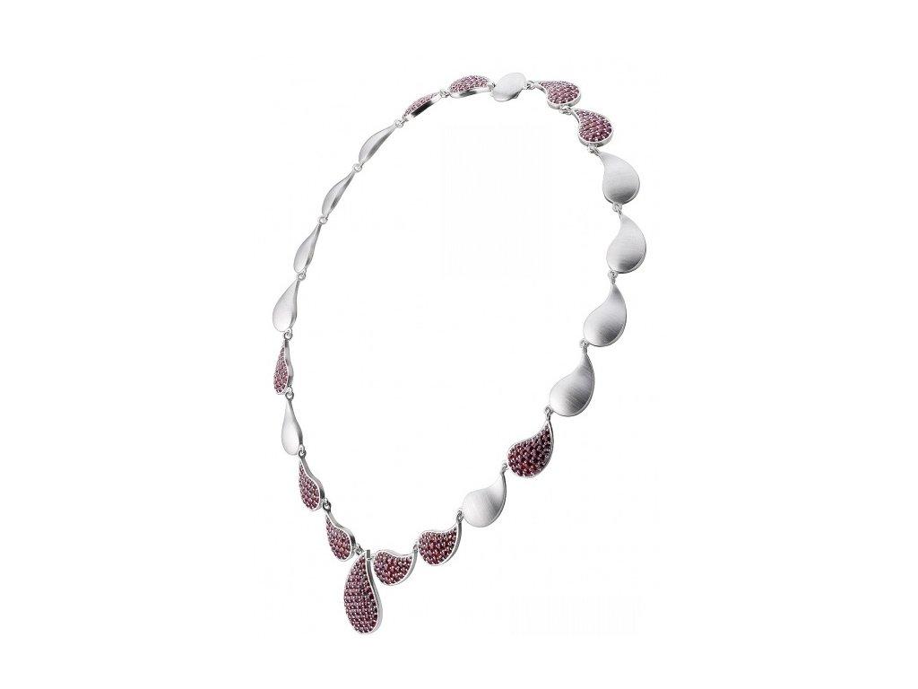 Český granát  Luxusní náhrdelník 7