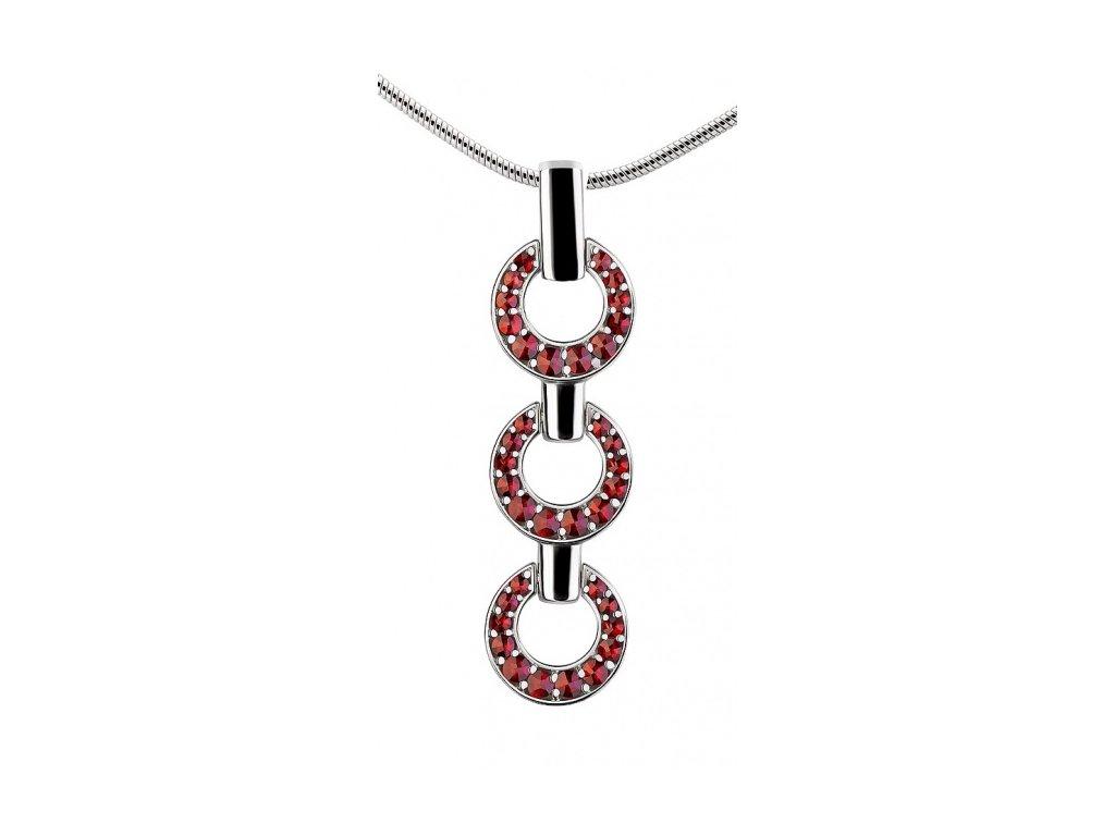 Český granát  Luxusní náhrdelník 11