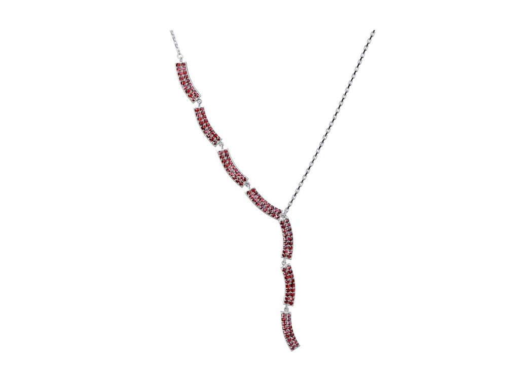 Český granát  Luxusní náhrdelník 10