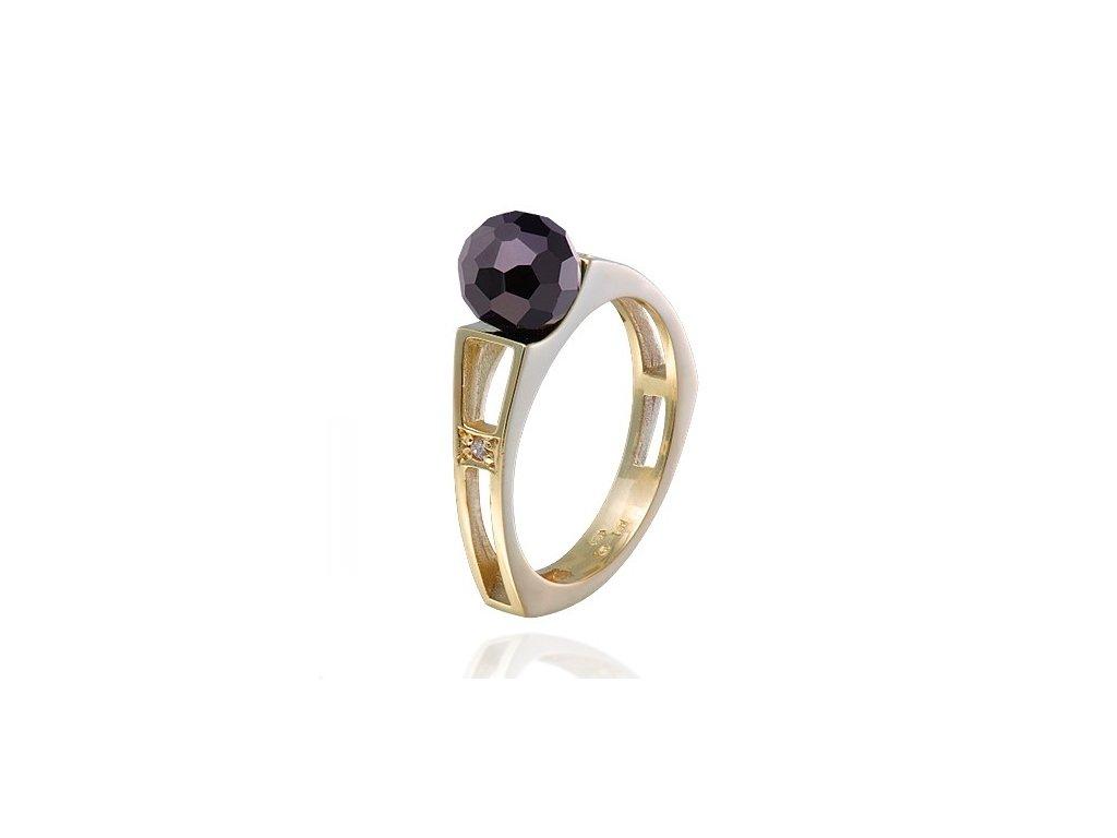 Český granát  Luxusní prsten 9