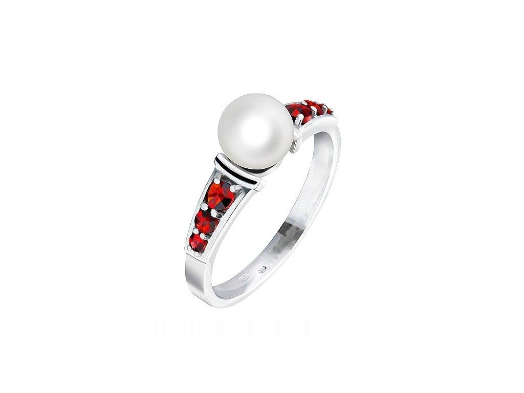 Český granát  Luxusní prsten 10