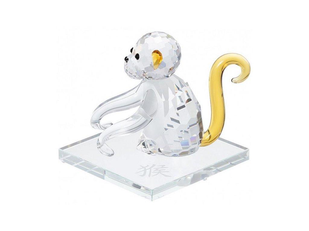 Skleněná figurka z broušeného křišťálu Sklo Bohemia - Opice (čínský zodiac)