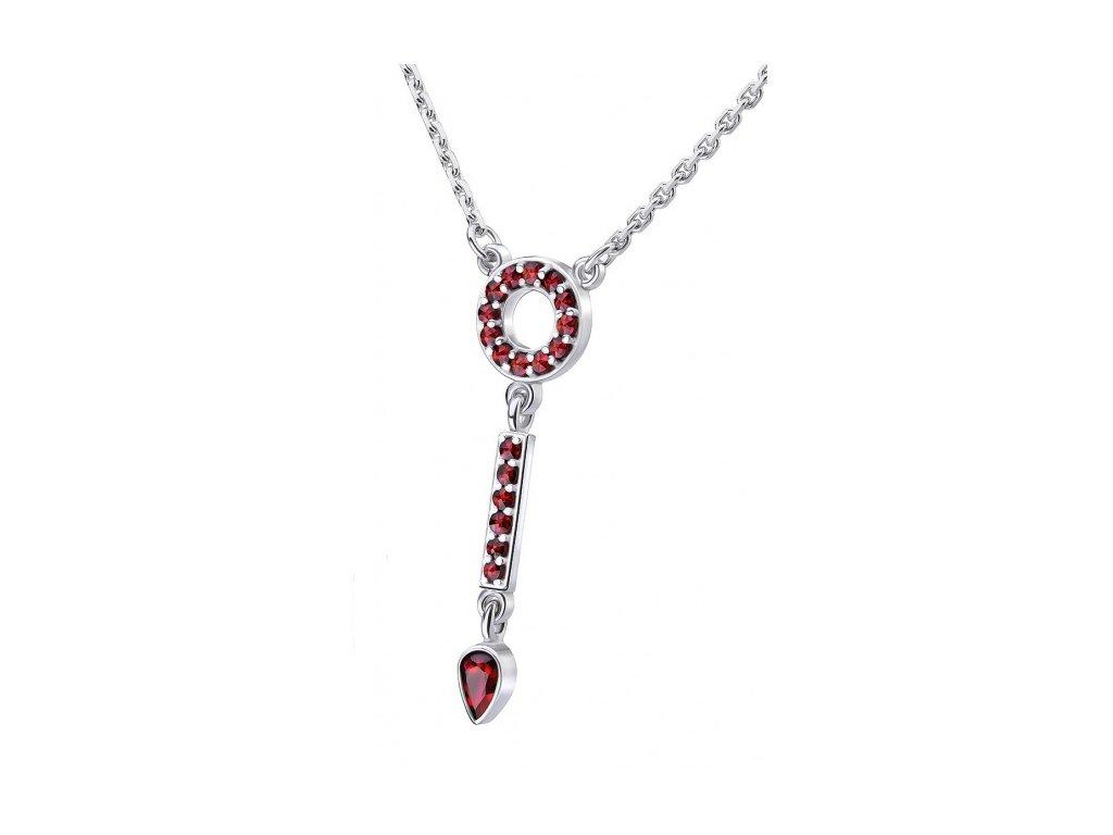 Český granát  Luxusní náhrdelník 4