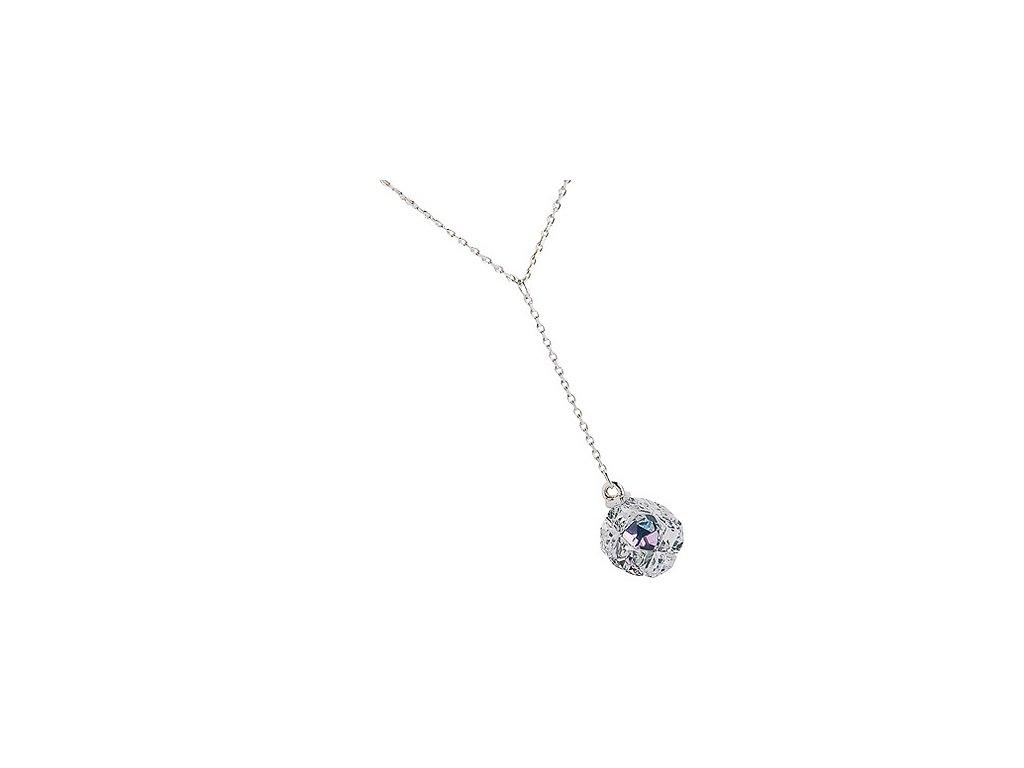 Preciosa  Broušený křišťál  Přívěsek Arctic Dream  Crystal Vitrail Light