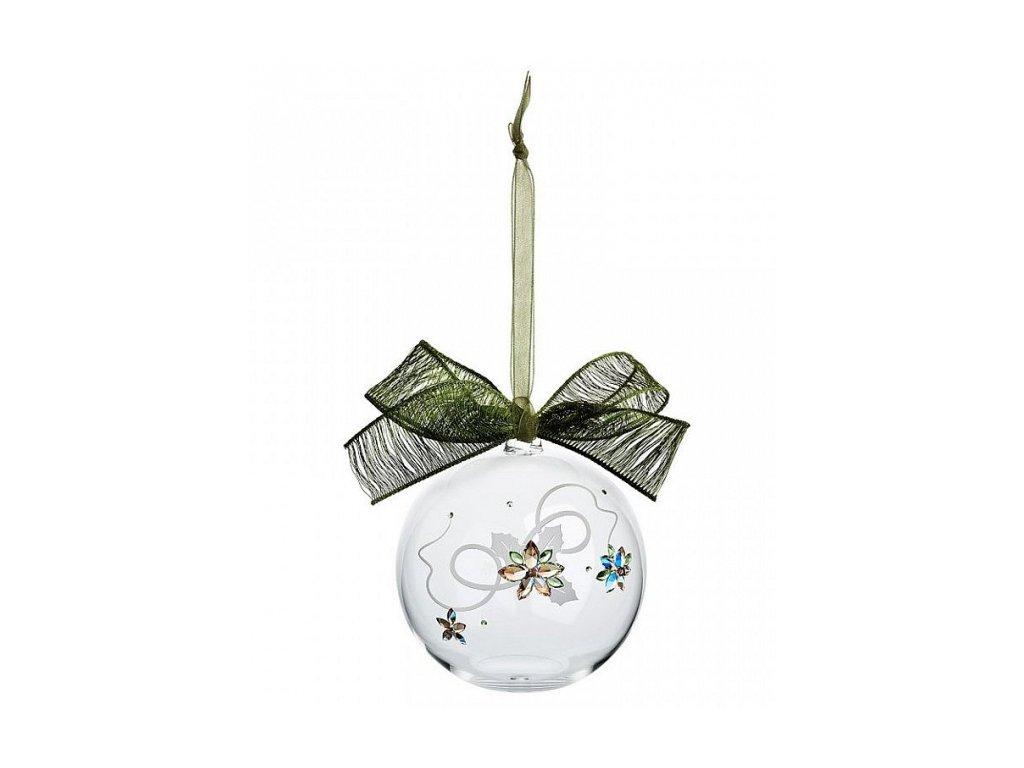 Vánoční dekorace z broušeného křišťálu Sklo Bohemia - Poinsettia