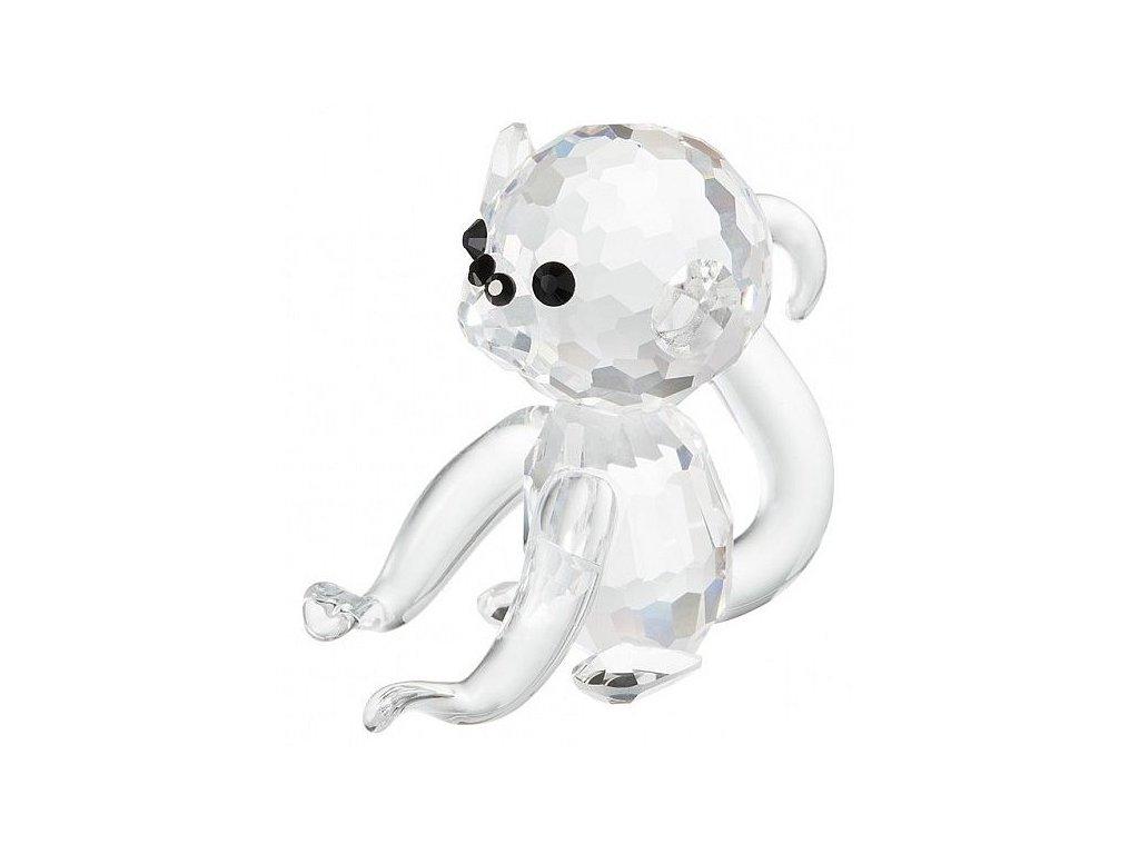 Skleněná figurka z broušeného křišťálu Sklo Bohemia - Opice (mini)