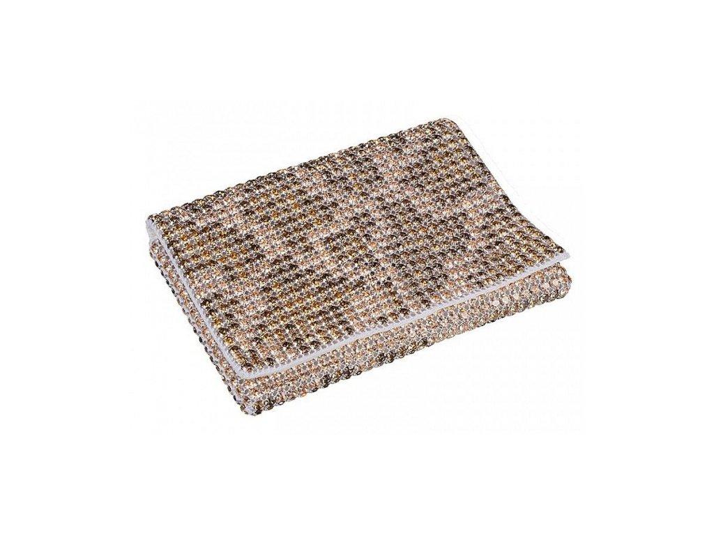 Dámská kabelka zdobená křišťály od firmy Preciosa - Presencia (mix barev)