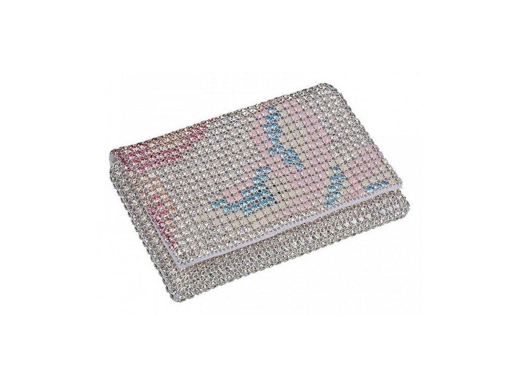 Dámská kabelka zdobená křišťály od firmy Preciosa - Marianela (mix barev)