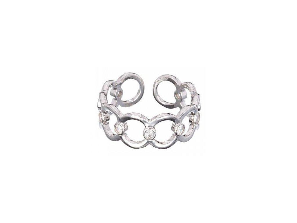 Stříbrný prsten Eternal Bond od firmy Preciosa