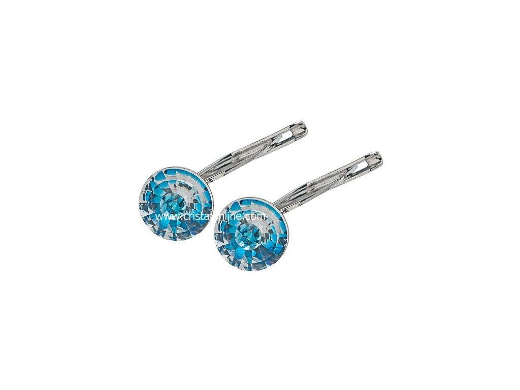 Preciosa broušený křišťál Náušnice Alisia Modrá - Sklo pro ženy 95474afe14
