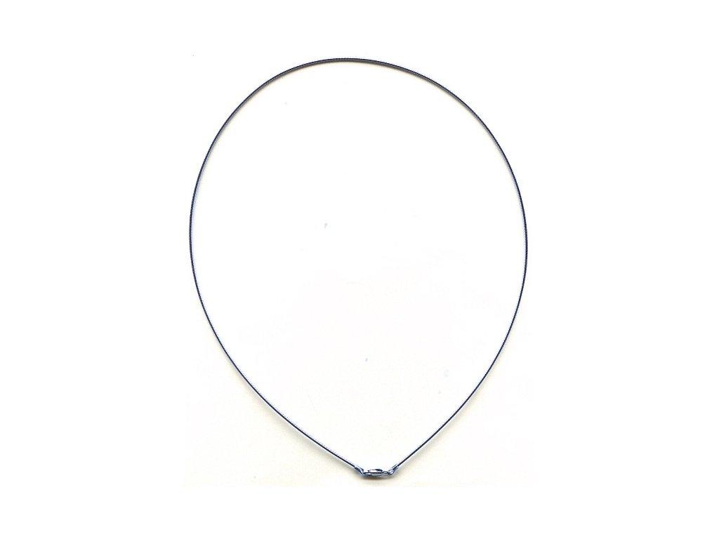 Stříbrný řetízek struna, délka 45 cm
