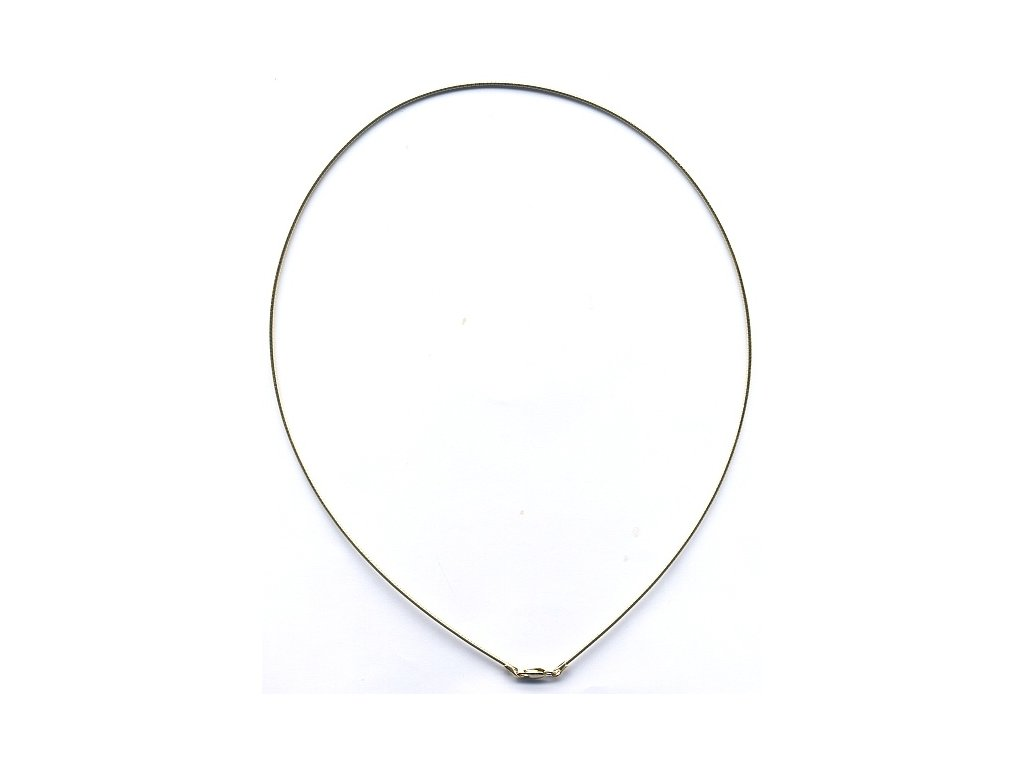 Zlatý řetízek struna, délka 45 cm