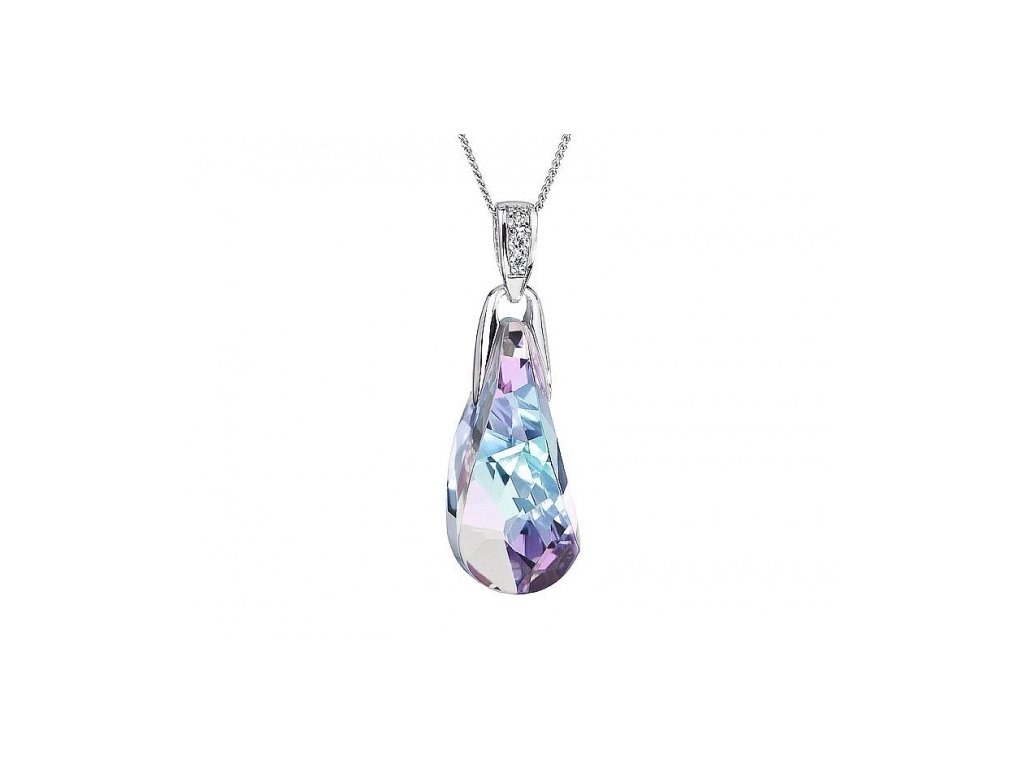 Přívěsek z broušeného skla Crystal Beauty v barvě Vitrail Light od firmy Preciosa