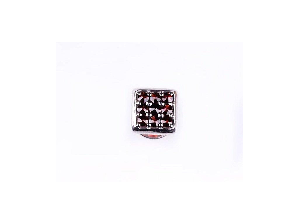 Český granát - Špendlík na kravatu nebo do klopy saka