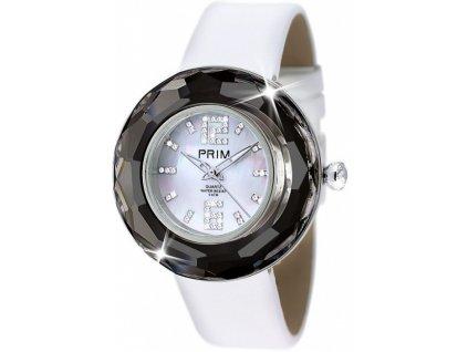 Dámské hodinky Crystal Time Premium v černé barvě Preciosa acc9612326
