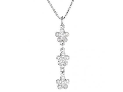 Stříbrný přívěsek Petty Flower od firmy Preciosa
