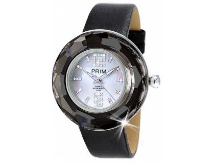 Dámské hodinky Crystal Time Premium II v černé barvě Preciosa 6d33ad45cf