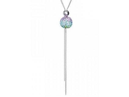 Stříbrný přívěsek Digital craft ve fialové barvě od firmy Preciosa