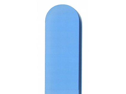 Skleněný pilník na nehty barevný pedikúra - Baby modrá