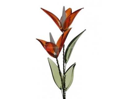 Skleněná kytka  Víla