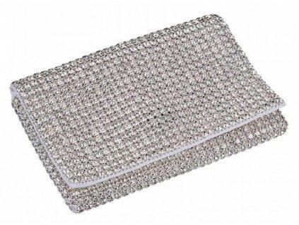 Dámská kabelka zdobená křišťály od firmy Preciosa - Eviana (krystal)