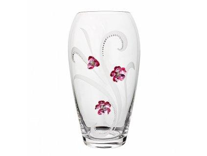 Skleněná váza z českého skla - Váza lehký vánek
