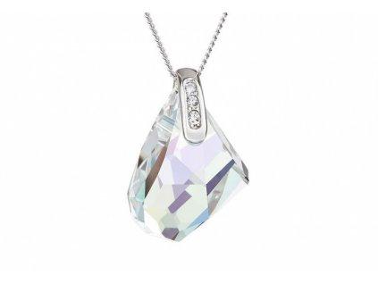 Přívěsek z broušeného skla Romantic Poetry v odstínech duhy od firmy Preciosa