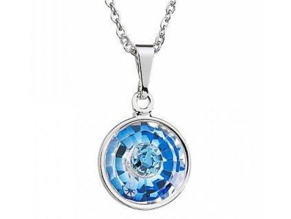 Preciosa broušený křišťál  Přívěsek Livia 1  Modrá