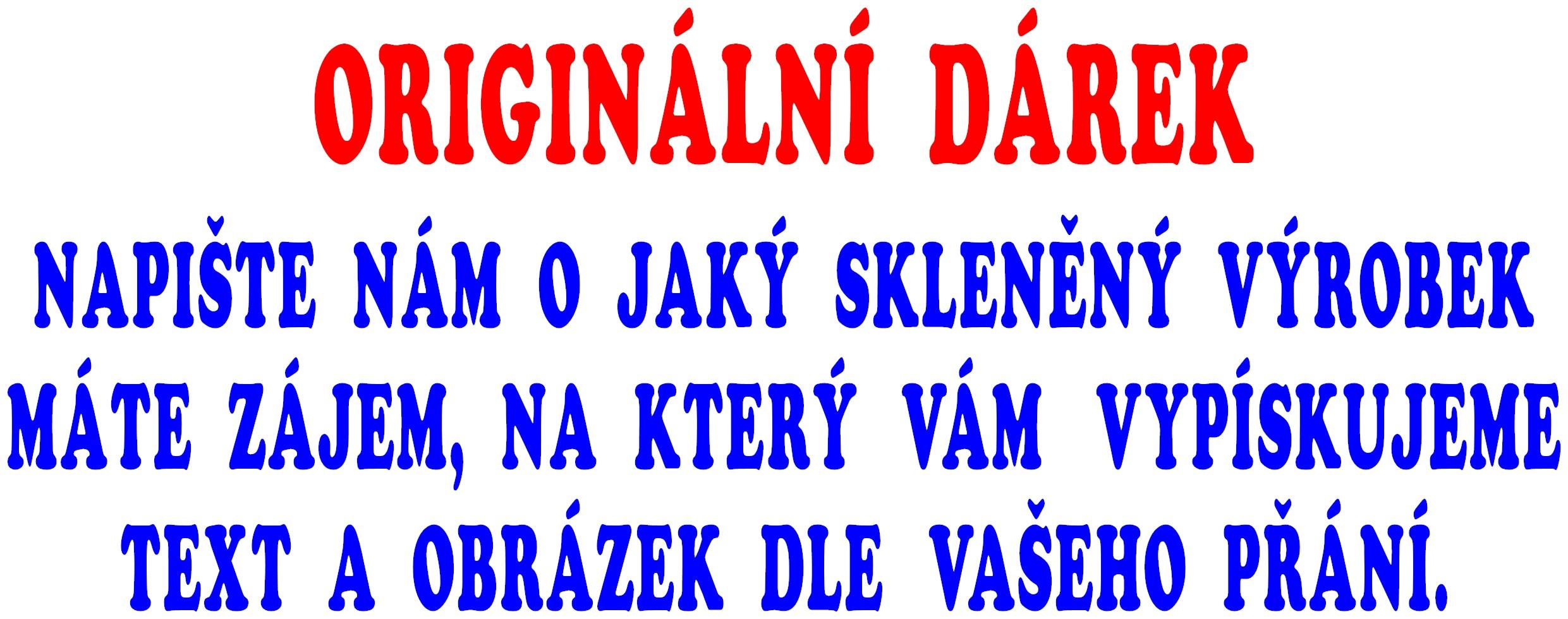 ORIGINÁLNÍ DÁREK