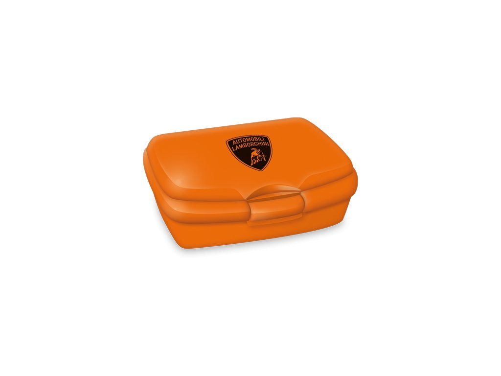 Ars Una Box na svačinu Lamborghini orange