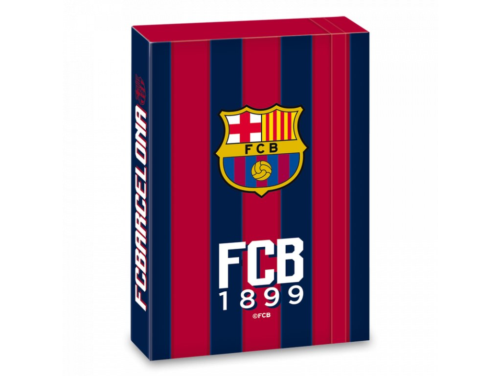 Box na sešity FC Barcelona A4 stripes