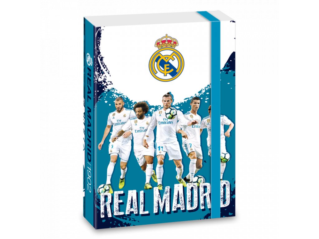 Ars Una Box na sešity Real Madrid 18 A4