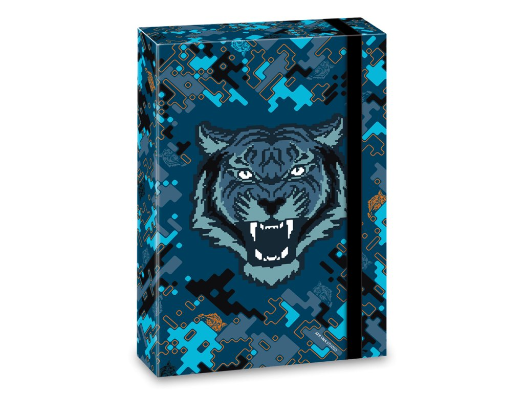 Box na sešity Roar of the Tiger A4