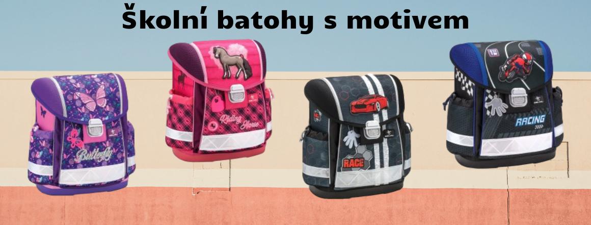 Školní batohy s motivem