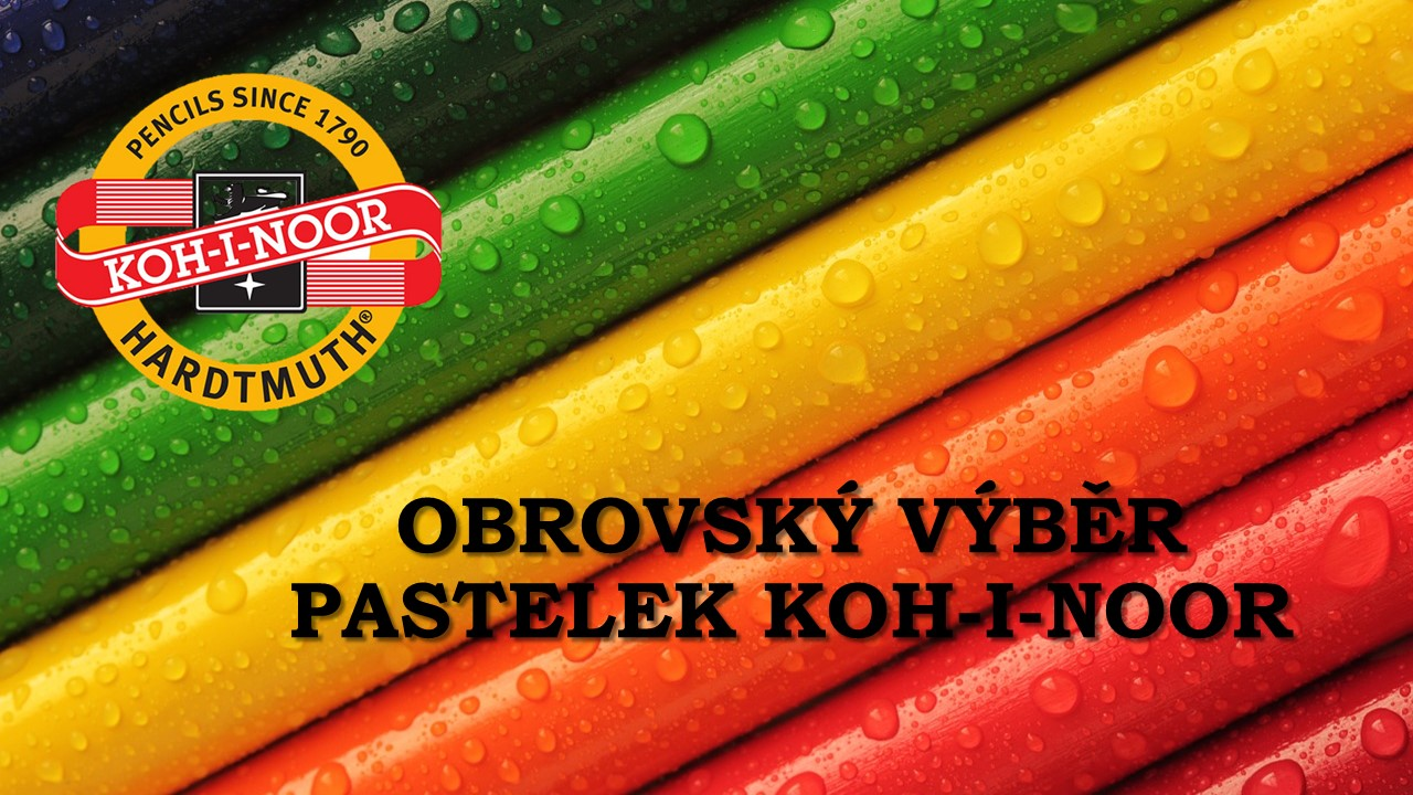 Pastelky KOH-I-NOOR