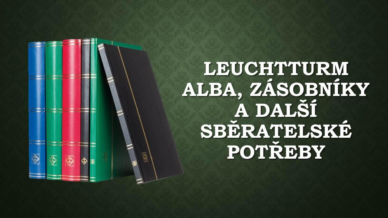 Alba na známky