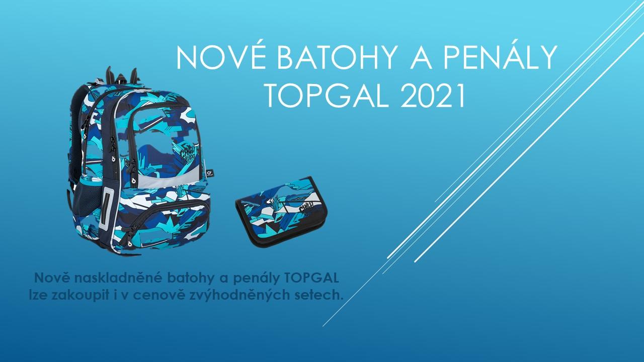 Nové batohy TOPGAL