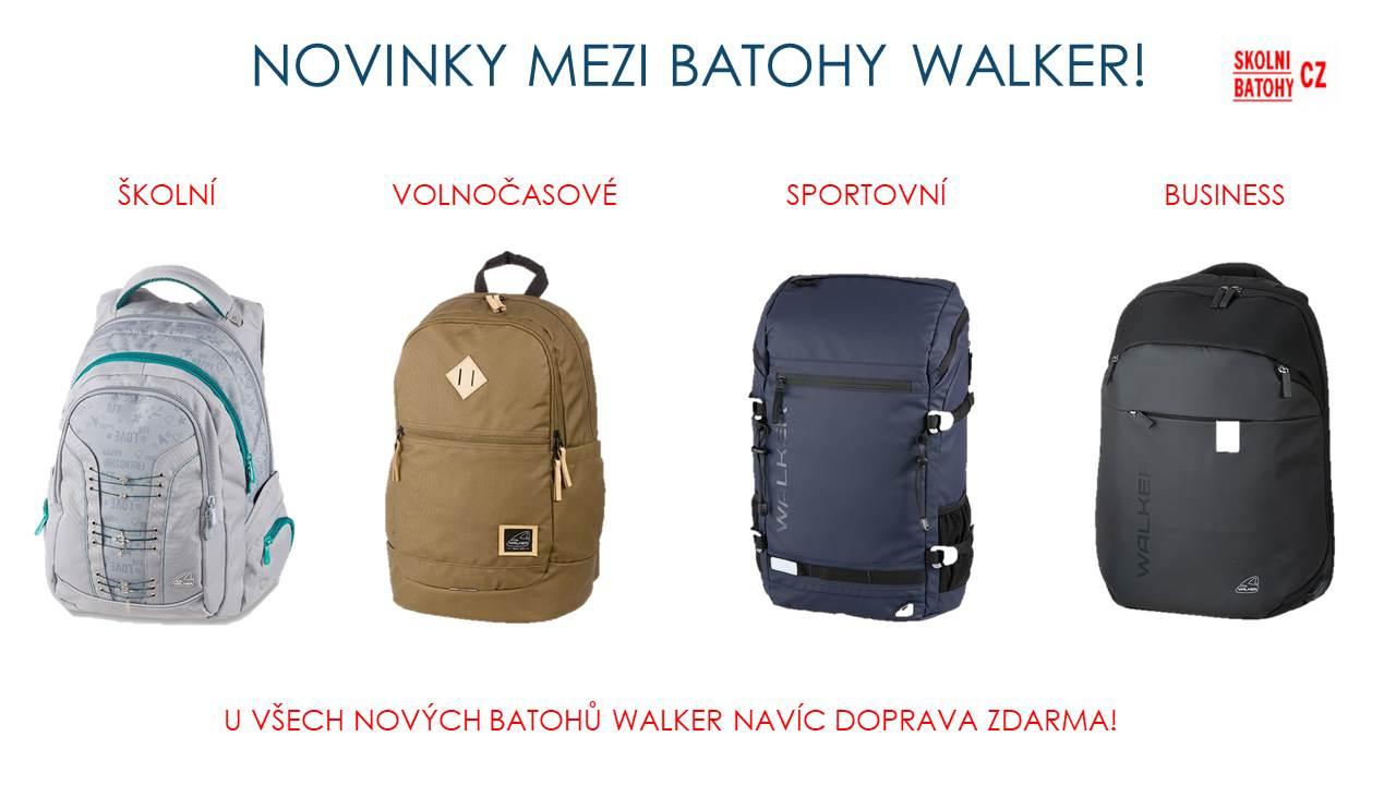 Nové batohy WALKER